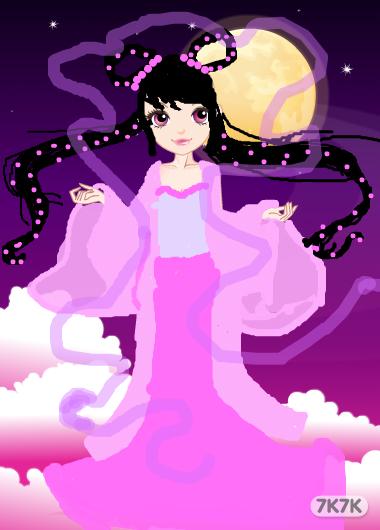 朱曾珍-嫦娥奔月