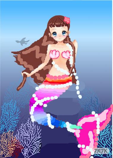 2727570439-珍珠美人鱼公主