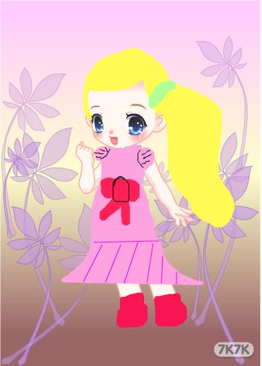 小公主苏菲亚 -涂鸦馆 丽丽 手绘作品