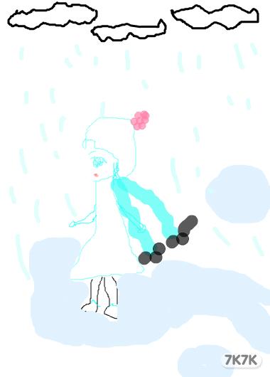 涂鸦馆-冰倪妮-手绘作品