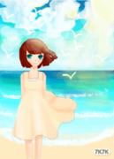 海边的女孩(全彩)