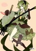 BY:【稿】脆脆 【色】凌希<br />TO:米娜<br />祝米娜元旦happy!<br />参加甜品,鼠绘求花花!