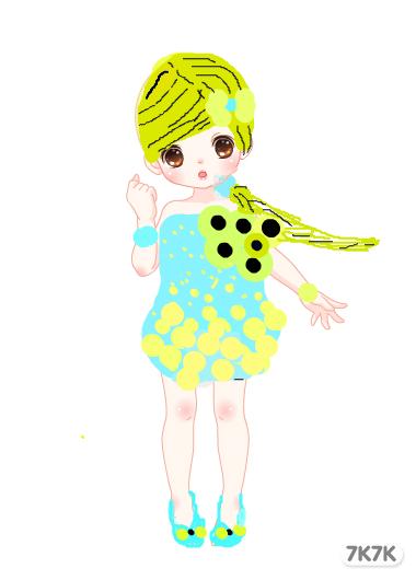 2239534665-柠檬女孩图片