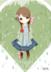 蝴蝶结的小女孩。by淋。