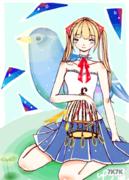 【原创】一脸正经的参加比赛【鸟笼】【阿喵作】