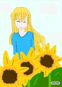 向日葵少女,鼠绘