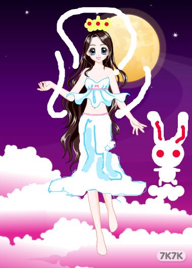 奥比岛奇迹魔法套装嫦娥