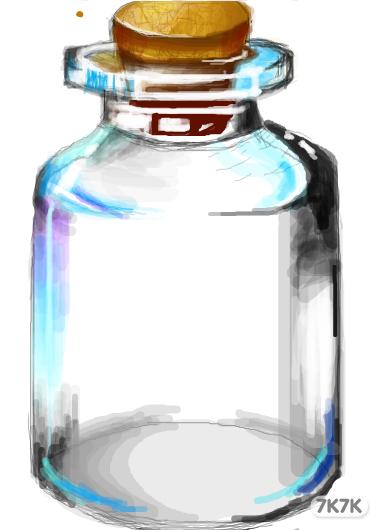 瓶子动物涂鸦图片