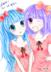 这是属于mio和我梓喵的画,原创废不解释。。=v=【梓喵
