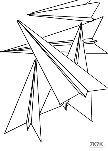 小瑷-纸飞机