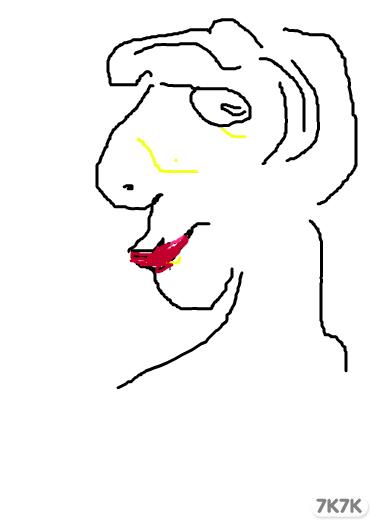涂鸦馆 龙卷风 手绘作品