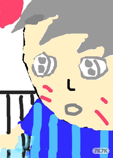 可爱绘画图片男生